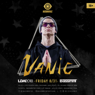 Vanic x Insomniac Events at Bassmnt Friday 8/31