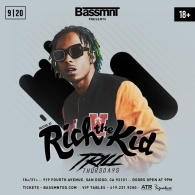 Rich the Kid at Bassmnt Trill Thursday 9/20
