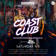 Coast Club at Bassmnt Saturday 9/8