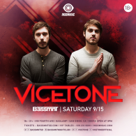 Vicetone x Insomniac Events at Bassmnt Saturday 9/15