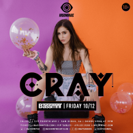 CRAY x Insomniac Events at Bassmnt Friday 10/12