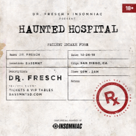 Dr. Fresch x Insomniac Events at Bassmnt Friday 10/26