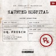 Dr. Fresch x Insomniac Events at Bassmnt Friday 10/26