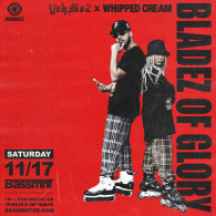 Yeh Me 2 x Whipped Cream at Bassmnt Saturday 11/17