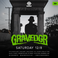 GRAVEDGR x Insomniac Events at Bassmnt Saturday 12/8