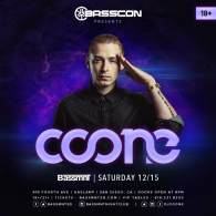 Coone x Basscon at Bassmnt Saturday 12/15