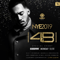 4B x Insomniac Events at Bassmnt Monday 12/31