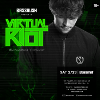Virtual Riot x Bassrush at Bassmnt Saturday 2/23