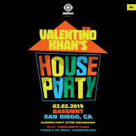 Valentino Khan's 'House Party' at Bassmnt Saturday 3/2