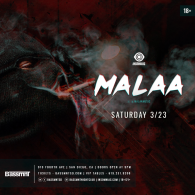 Malaa x Insomniac Events at Bassmnt Saturday 3/23