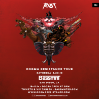 RIOT at Bassmnt Saturday 3/30