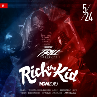 Rich The Kid at Bassmnt Friday 5/24