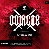 Oolacile x Insomniac Events at Bassmnt Saturday 4/27