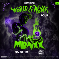 Monxx x Bassrush at Bassmnt Saturday 6/1