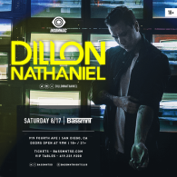 Dillon Nathaniel x Insomniac Events at Bassmnt Saturday 8/17