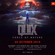 QUIX x Insomniac Events at Bassmnt Saturday 10/5