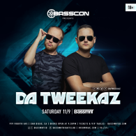 Da Tweekaz x Basscon at Bassmnt Saturday 11/9