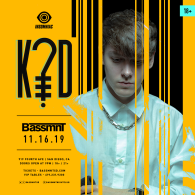 K?D x Insomniac Events at Bassmnt Saturday 11/16