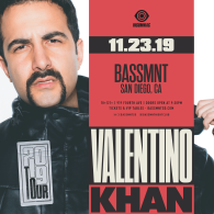 Valentino Khan x Insomniac Events at Bassmnt Saturday 11/23
