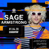 Sage Armstrong x Insomniac Events at Bassmnt Saturday 1/4