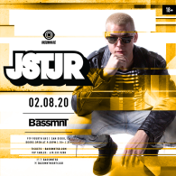 JSTJR x Insomniac Events at Bassmnt Saturday 2/8