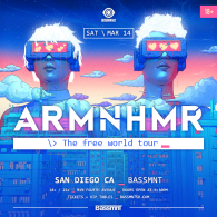 ARMNHMR x Insomniac Events at Bassmnt Saturday 3/14