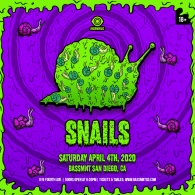 Snails x Insomniac Events at Bassmnt Saturday 4/4