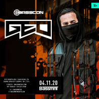 GEO x Basscon at Bassmnt Saturday 4/11