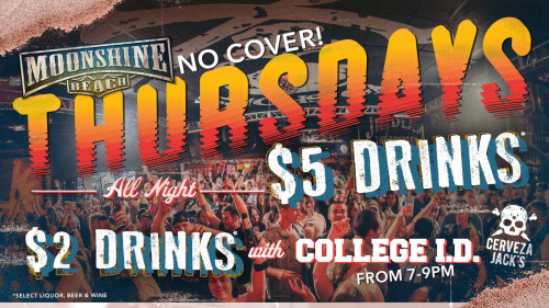 Throwdown Thursdays at Moonshine Beach - Moonshine Beach