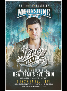 NYE 2019 with Jerry Jacobs at Moonshine Beach