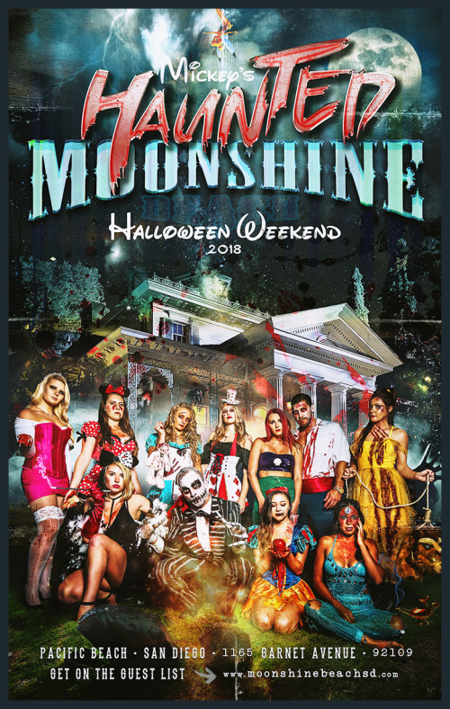Mickey's Haunted Moonshine with Chris Shrader at Moonshine Beach - Moonshine Beach