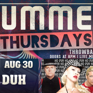 Summer Thursdays with No Duh LIVE at Moonshine Beach