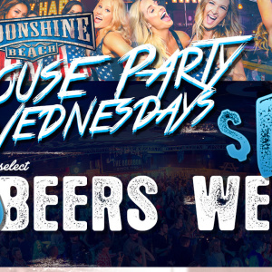 House Party Wednesdays at Moonshine Beach