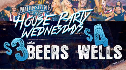 House Party Wednesdays at Moonshine Beach - Moonshine Beach