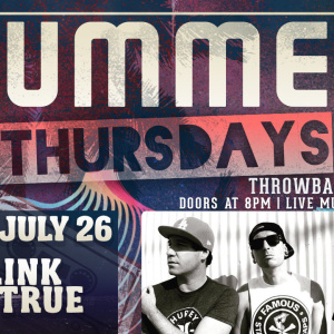 Summer Thursdays with Blink-180TRUE LIVE at Moonshine Beach