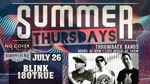 Summer Thursdays with Blink-180TRUE LIVE at Moonshine Beach - Moonshine Beach