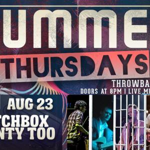 Summer Thursdays with Matchbox Twenty Too LIVE at Moonshine Beach