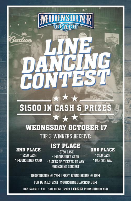 Line Dancing Contest at Moonshine Beach - Moonshine Beach