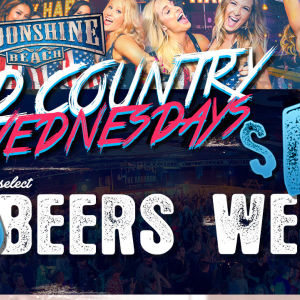 Wild Country Wednesdays at Moonshine Beach, Wednesday, November 14th, 2018