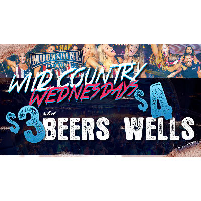 Wild Country Wednesdays at Moonshine Beach, Wednesday, October 24th, 2018