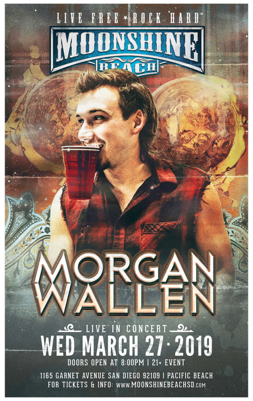 Morgan Wallen Live in Concert with HARDY and Lacy Cavalier at Moonshine Beach - Moonshine Beach