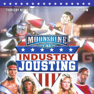 Industry Jousting Tournament at Moonshine Beach, Thursday, November 15th, 2018