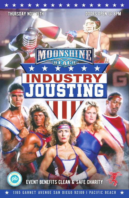Industry Jousting Tournament at Moonshine Beach - Moonshine Beach
