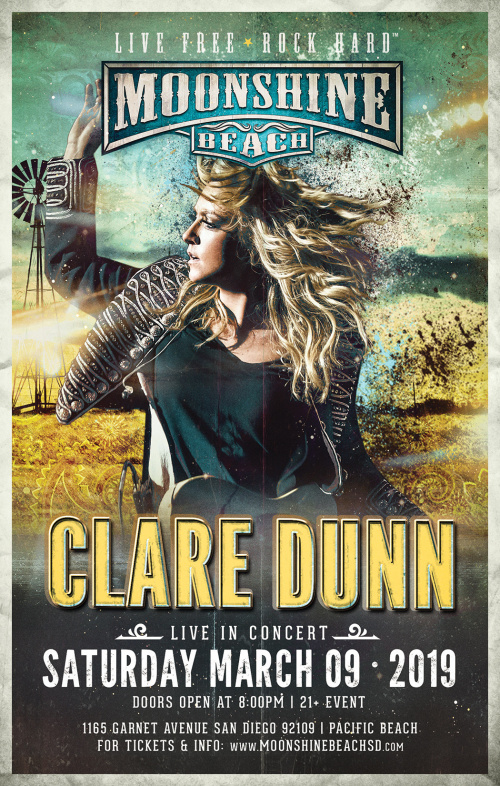 Clare Dunn Live in Concert at Moonshine Beach - Moonshine Beach