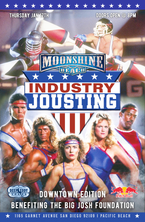 2nd Industry Jousting Tournament at Moonshine Beach - Moonshine Beach