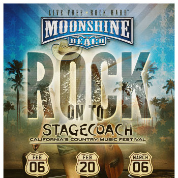 Stagecoach Giveaways at Moonshine Beach