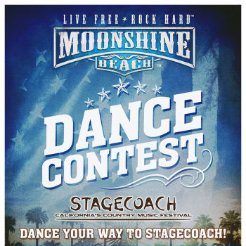 Stagecoach Dance Contest at Moonshine Beach