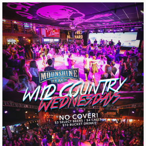 Wild Country Wednesdays at Moonshine Beach, Wednesday, May 22nd, 2019