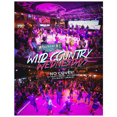 Wild Country Wednesdays at Moonshine Beach, Wednesday, May 8th, 2019