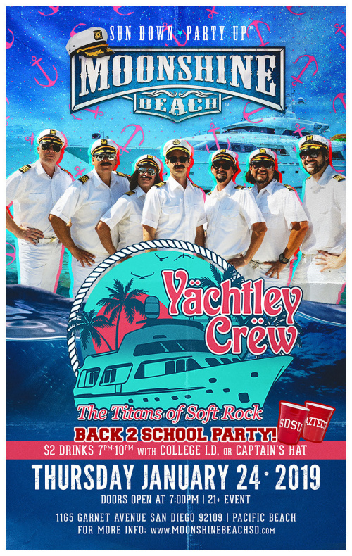 Back 2 School with Yachtley Crew LIVE at Moonshine Beach - Moonshine Beach